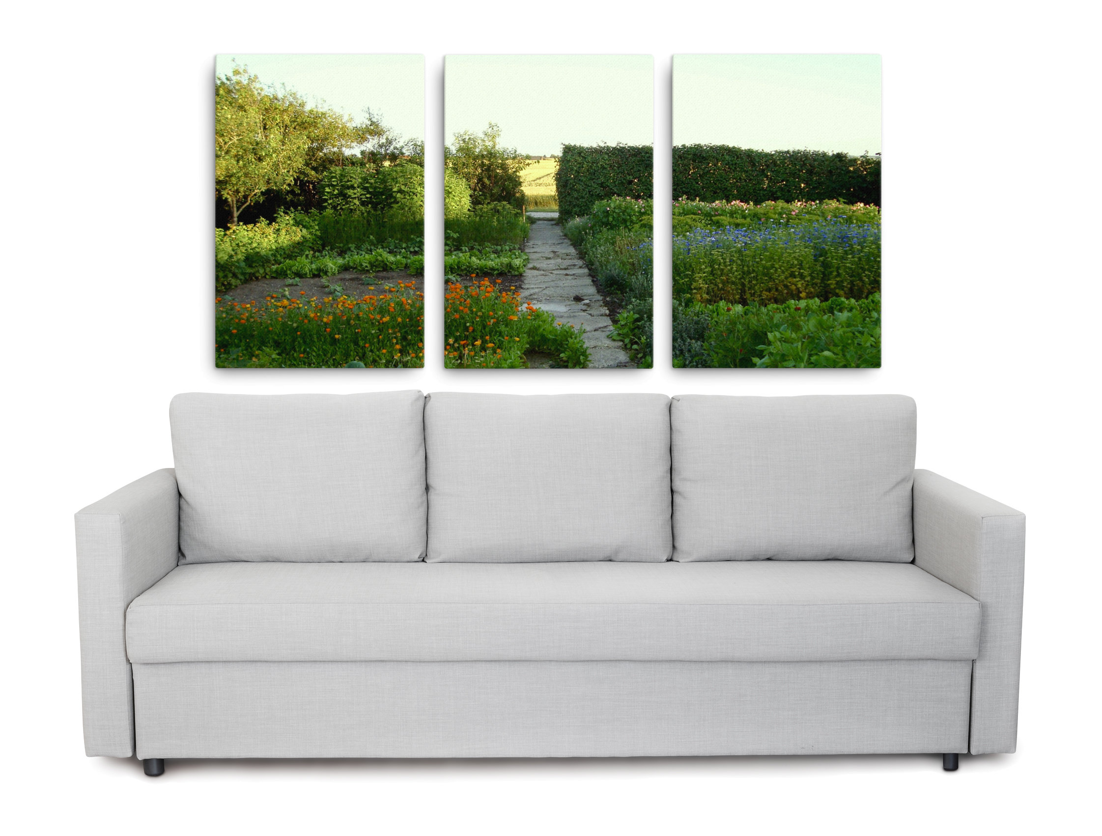 Product picture of country garden canvas prints
