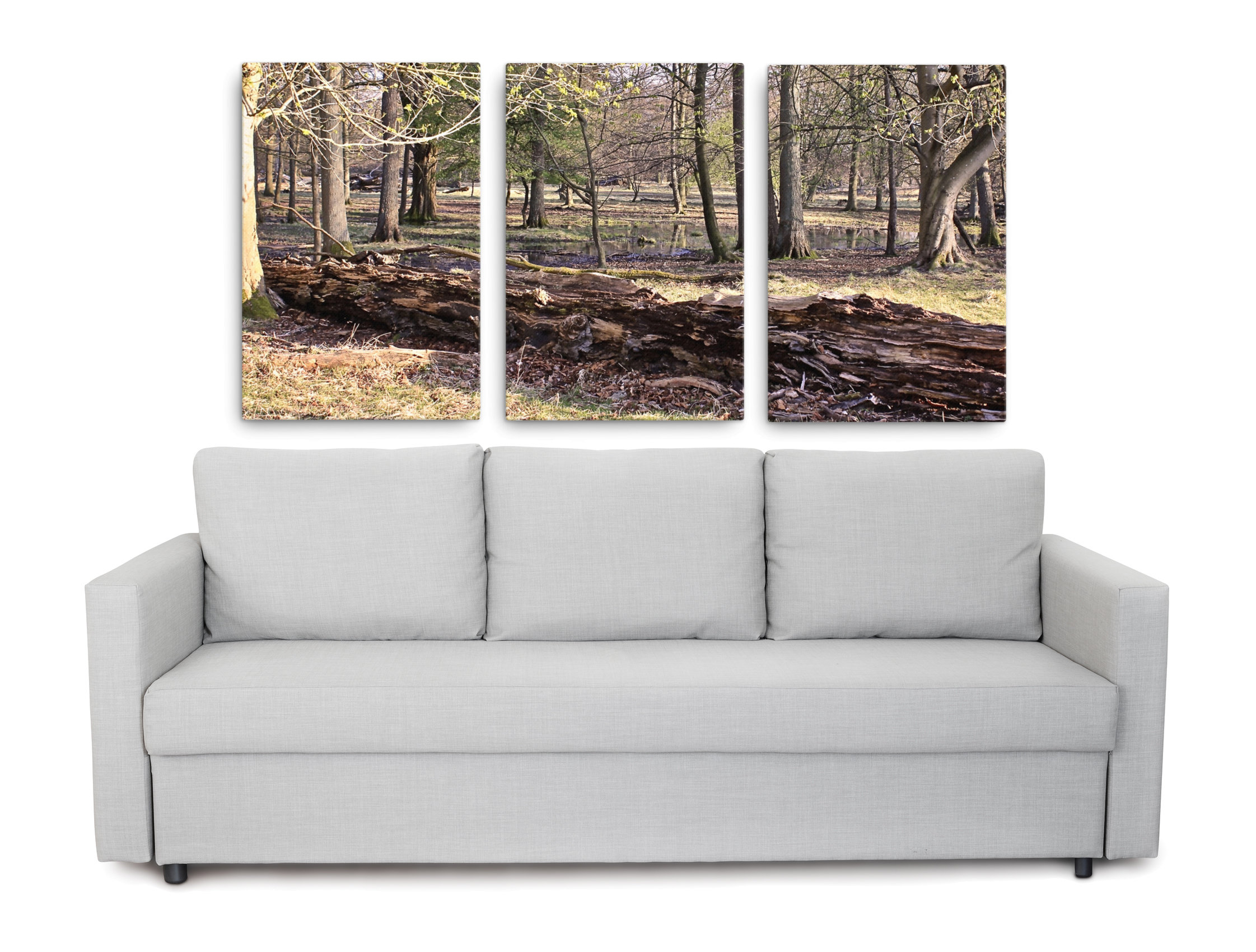 Product picture of Nordic forest wall art set of 3 canvas print